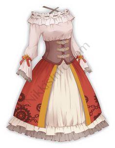 Love Nikki Nikki Mechanical – Nikki's Info - atemberaubende kleider Cosplay Outfits, Anime Outfits, Mode Outfits, Dress Outfits, Girl Outfits, Fashion Outfits, Manga Clothes, Drawing Anime Clothes, Dress Drawing