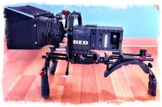 We love when people send us pictures of their set up :)   thanks to Howard Buksbaum for his picture featuring the SHAPE COMPOSITE FICTION & Red Epic