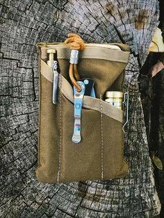 PocKit Pro EDC Organizer: Coyote Brown Modern Carry