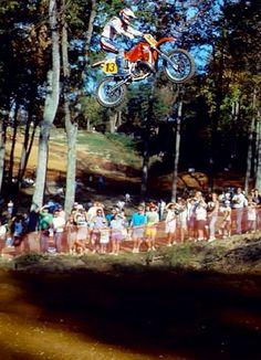 Ricky Johnson # big jump # Honda 13 # motocross # mx