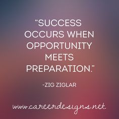Prepare for your career by signing up for my newsletter! www.careerdesigns.net #careercoach #success #strategy