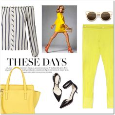 How To Wear Yellow Outburst Outfit Idea 2017 - Fashion Trends Ready To Wear For Plus Size, Curvy Women Over 20, 30, 40, 50