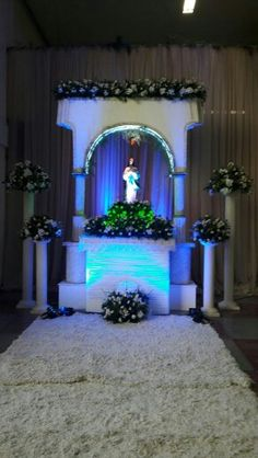 Altar da Coroação de Nossa Senhora Santuário Eucaristico do Bom Jesus Aparecido dr Sousa - PB