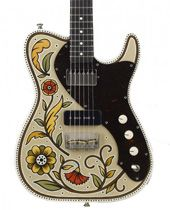 Creston Electric Guitars, painted by Sarah Ryan, AMAZING theres tons of them to check out! they are BEAUTIFUL!
