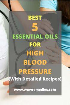 best essential oils for high blood pressure