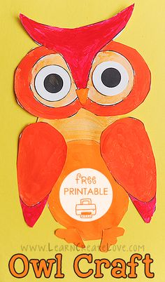 This Wise Owl craft is another good example. Owl Crafts, Crafts To Do, Crafts For Kids, Arts And Crafts, Owl Preschool, Owl Mosaic, Octopuses, Wise Owl, Owl Bird