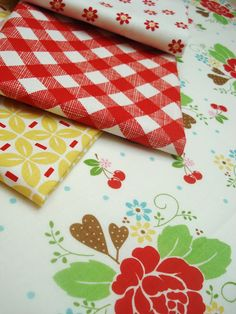 Sew Cherry ~ loading up on this fabric before it disappears...
