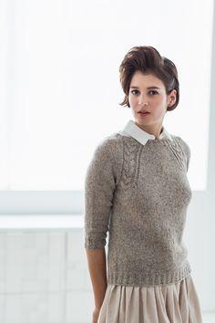 Coda pullover from BrooklynTweed #WoolPeople7
