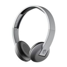Skullcandy Uproar Bluetooth Wireless On-Ear Headphones with Microphone and Remote, Rechargeable Battery, Soft Ear Pillows for Comfort For Sale White Headphones, Headphones With Microphone, Headphone With Mic, Bluetooth Headphones, Over Ear Headphones, Noise Cancelling Kopfhörer, Phone Accessories, Gray, Qvc