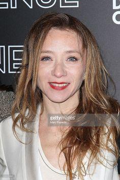 Director Sylvie Testud attends the 'La Vie D'une Autre' Paris Premiere on February 7, 2012 in Paris, France.