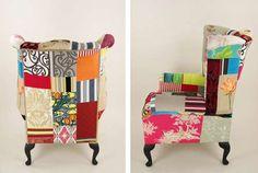 Vintage Patchwork Furniture