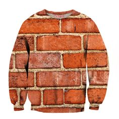 Brick Sweatshirt - Special 3D Sublimation Printing Technique - Sale available on shirts, tshirts, sweatshirts (jumpers) and hoodies.
