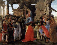 Botticelli (1445-1510, Italy) Adorazione dei Magi  https://www.artexperiencenyc.com/social_login/?utm_source=pinterest_medium=pins_content=pinterest_pins_campaign=pinterest_initial
