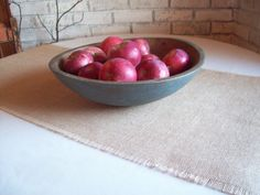 Burlap Table Runner 12 x 96 to 18 x 96 - Rustic Harvest Table Runner - More Colors and Widths Available - 14 x 96 - 16 x 96 - Burlap Runner