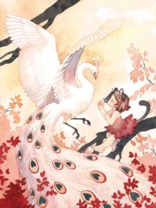 Rozenn Grosjean - Cerise et l'oiseau blanc