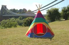 The best Play Tents & Teepees - Hand made in Bristol - Sent around the world.