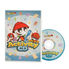 Sparks Activity CD (coloring pages, puzzles, crosswords, etc)