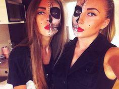 40 Halloween skull make-up ideas