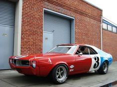 1968 AMC Javelin Trans-Am s/n A8M795N139054 Factory Livery, Red, White & Blue