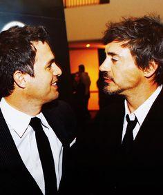 Mark Ruffalo and Robert Downey Jr.