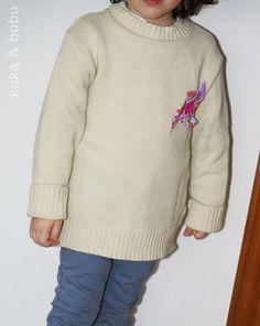 De jersey a mini jersey… - A mini pullover from a pullover…