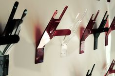 Rock On Hooks, also available as a Coat Stand Grooming Salon, Metal Hangers, Coat Stands, Rockn Roll, Coat Hanger, Room Themes, Coups, Rock Style, Hard Rock