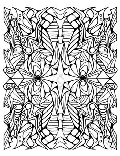 Adult Coloring Page (Dragons) (1.25 USD) by BrokenCrayonWorks