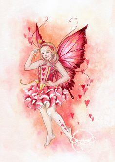 Fairy and Fantasy art by Janna Prosvirina - Valentina