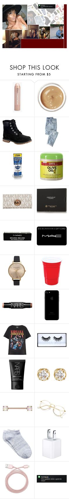 """ she like them thug n-ggas .. i can tell, we throw that money up, i got your ass up in the air "" by dis-trict ❤ liked on Polyvore featuring Boohoo, Chantecaille, Timberland, Wrap, MICHAEL Michael Kors, Anastasia Beverly Hills, MAC Cosmetics, Olivia Burton, NARS Cosmetics and Trunk LTD"