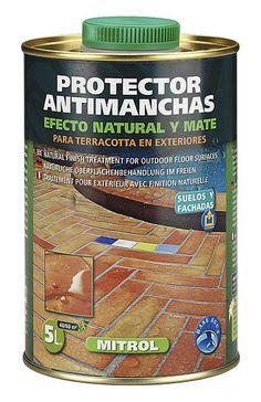 Producto protector para suelos de barro cocido.