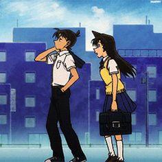 Kudo Shinichi Mouri Ran Ran And Shinichi, Kudo Shinichi, Conan Movie, Detektif Conan, Magic Kaito, Heiji Hattori, Kaito Kuroba, Detective Conan Wallpapers, Gosho Aoyama