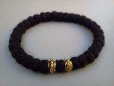 1pc Orthodox russian/greek chotki komboskini prayer rope rosary wool bracelet blessed
