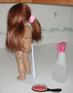 Great site, with info on taking care of doll hair, cleaning of doll bodies, etc...SKIP THE EXPENSE OF THE DOLL SALON!