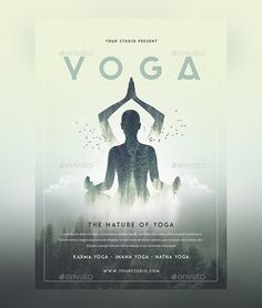 Whether you're a yoga instructor or you own a yoga studio, you need an attractive flyer to promote your business. To help you, we've got a list of best free yoga flyer PSD templates in this article. You can also discover some premium templates available for little cost. Using these yoga flyer templates, you can … Psd Templates, Flyer Template, Yoga Flyer, Jnana Yoga, Business Poster, Yoga Logo, Free Yoga, Promote Your Business, Advertising Design