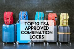 Top 10 TSA Approved Combination Locks. We review 10 of the best TSA Approved Combination Travel Locks. Ensure your luggage is secure and easily accessible by the TSA next time you visit the USA