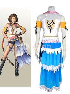 Final Fantasy X-2 Yuna Cosplay Costume $66.99