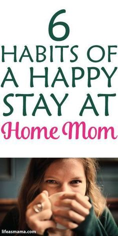6 Habits Of A Happy Stay At Home Mom--just in case I decide to stay home. Mom Advice, Parenting Advice, Kids And Parenting, Parenting Styles, Gentle Parenting, Parents, Mom Schedule, Mentally Strong, Stay At Home Mom