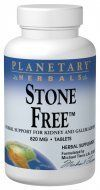 Planetary Herbals Stone Free, 820 mg - 90 Tablets by Planetary Herbals. $8.18. Planetary Herbals Stone Free, Gall Bladder & Kidney Supplement, is a unique combination designed to support the kidneys, liver and gallbladder. Dandelion root and turmeric root are bitter substances which support the body's normal bile flow. Gravel root, parsley root and marshmallow root have been used historically for supporting normal fluid elimination.. Save 37%!