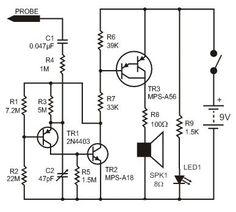 simple adjustable current control circuit | Electronic | Pinterest ...