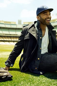 Matt Kemp. yezzz. ~Nice to see that he wasnt ruined by Rihanna like the rest of them.