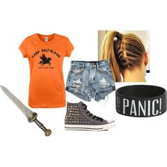 """""""My Camp Half-Blood Outfit"""" by binzer on Polyvore"""