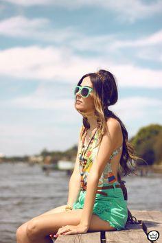 "Fashion Coolture:  Zerouv + Plus ""Harlow"" Oversize Translucent Horned Rim Womens Sunglasses"