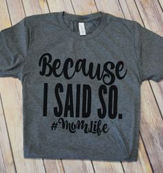 Comfort and style meet in these amazing #momlife inspired tees.