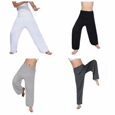 Men's Lightweight Loose Yoga Pants Morning Practice Cozy Sports Pants Online-NewChic Mobile