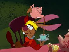 *MARCH HARE ~ Alice In Wonderland (1951) - DisneyScreencaps.com