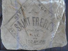 Saint Frères Paris Grain Sack Authenthic by SophieLadyDeParis