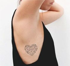 130 Most Adorable Small Heart Tattoo Designs cool  Check more at https://tattoorevolution.com/heart-tattoos/