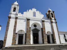 Foto tirada da Igreja de Nossa Senhora da Lagoa, Matriz de Monsaraz, Monsaraz em Portugal.