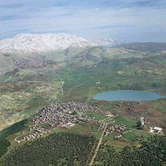 Golan Heights, Israel (Odem Forest, bottom left corner)