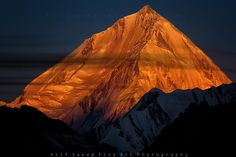 Morning Glow... Rakaposhi 7788M, Nagar, Pakistan by Atif Saeed on 500p.
